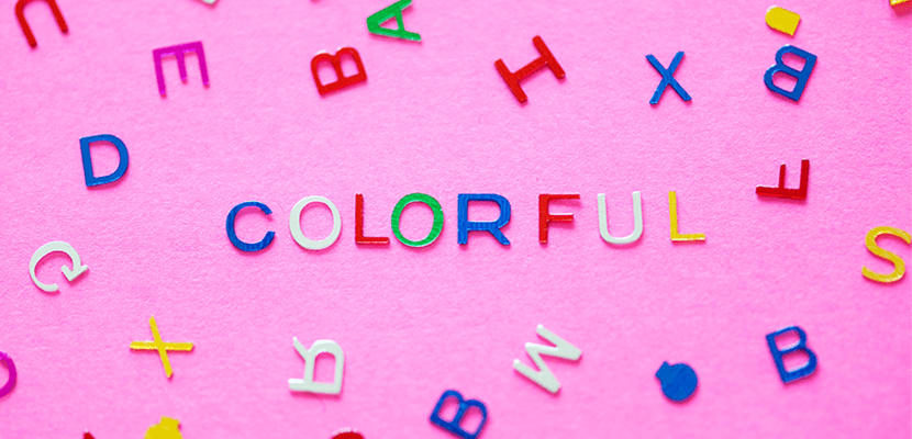 La couleur de la police d'écriture