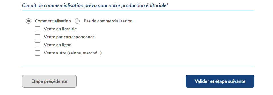 Manuel demande ISBN 7