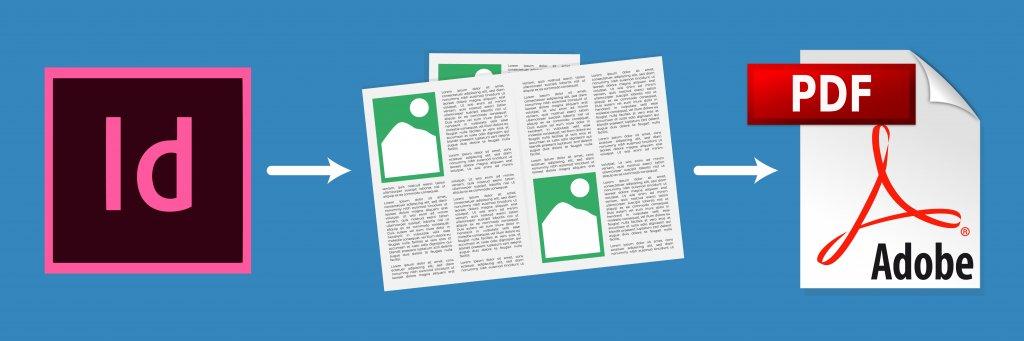 Export fichier corps de livre en pdf sous InDesign