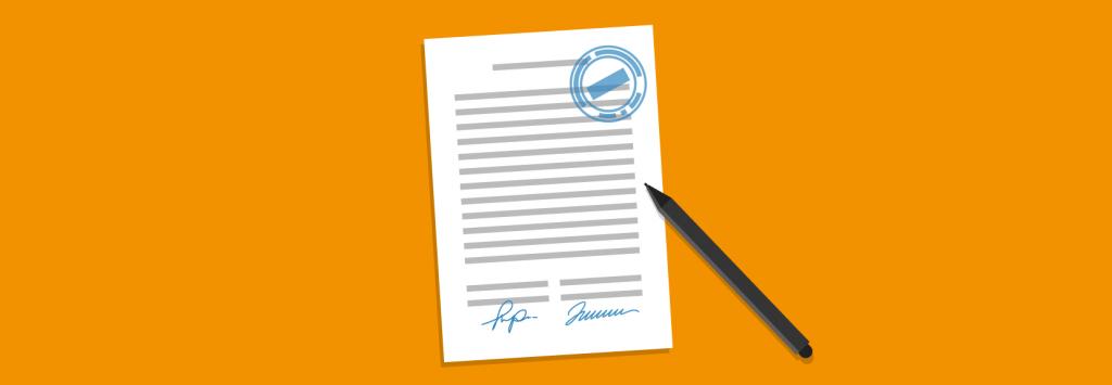 Signer un contrat avec un prête-plume ou écrivain fantôme