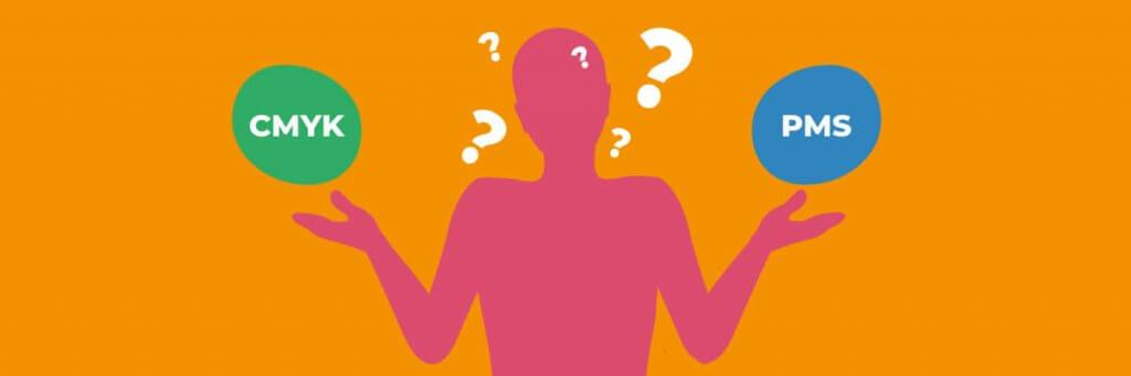 Quand faut-il opter pour les couleurs PMS  ou CMJN?