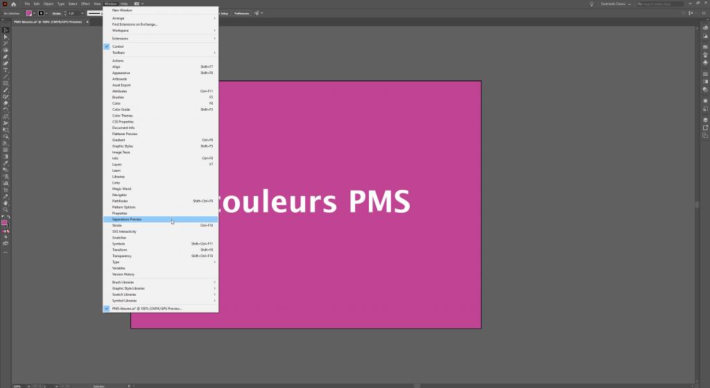 Utiliser Adobe Illustrator Separations Preview pour vérifier les couleurs
