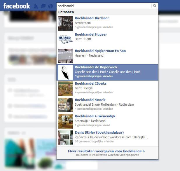 FB-boekhandels-vinden