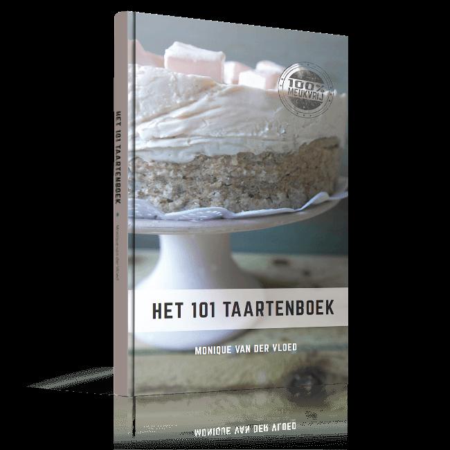 'Het 101 taartenboek' van Monique van der Vloed