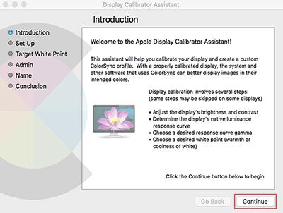 Beeldscherm kalibreren met Apple (stap 3)