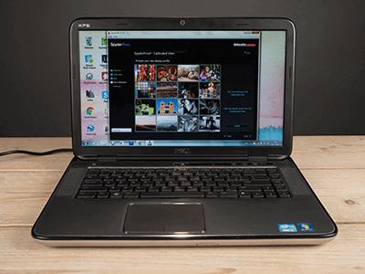 Gekalibreerd beeldscherm laptop