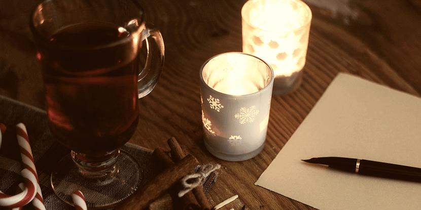 Schrijf een boek over de feestdagen