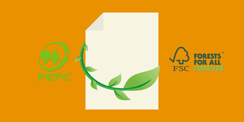 Milieuvriendelijk papier gebruiken