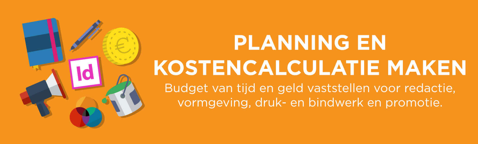 Planning en calculatie boek drukken