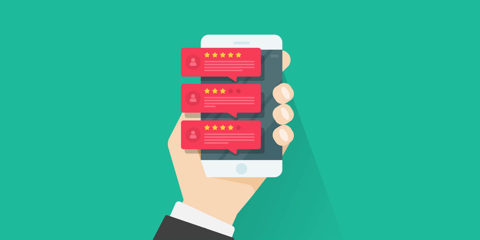 Mobiele recensies