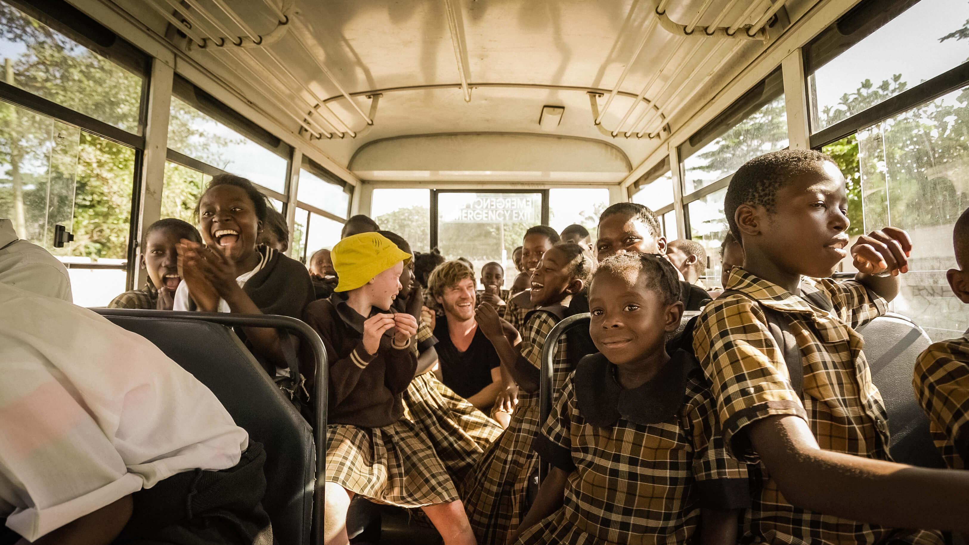 Adrian in Afrika