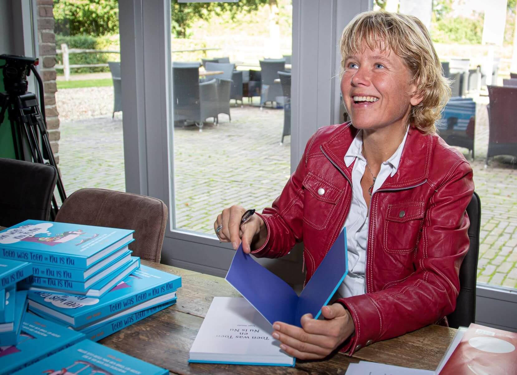 Signeersessie Inge Smale