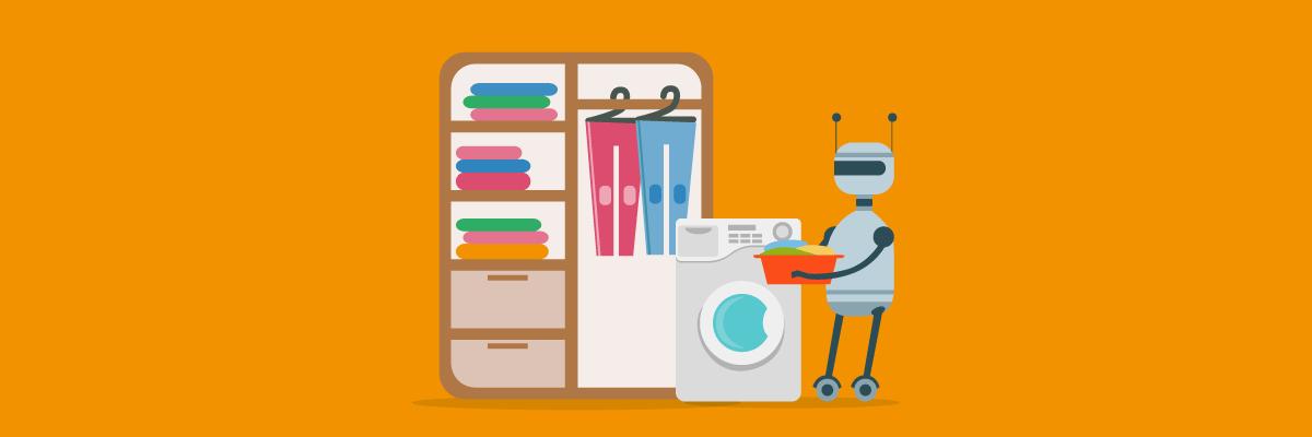 Een robot als huishoudhulp