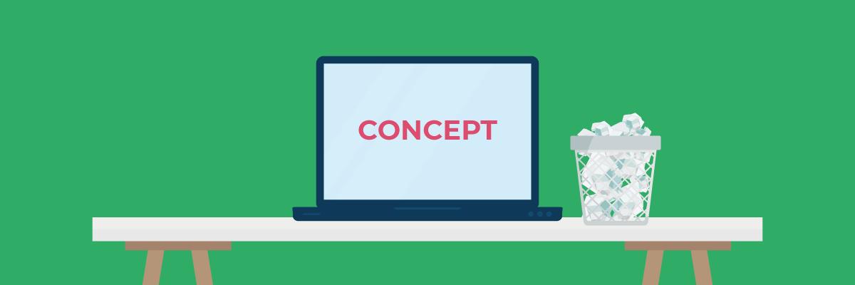 Een bestand is vaak niet definitief, maar vormt een concept